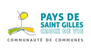 logo pays de saint gilles croix de vie